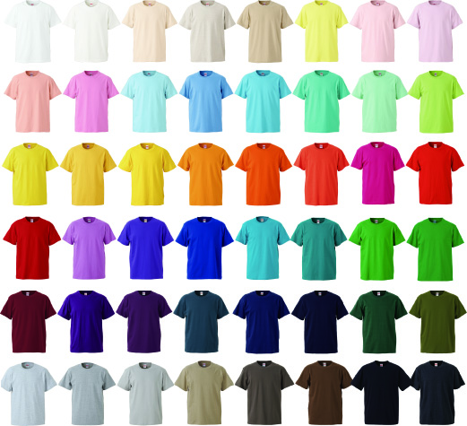 Tシャツ5001カラーのコピー